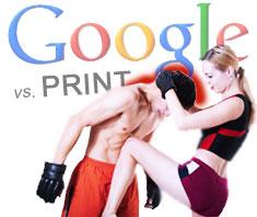 Google gegen Printverlage