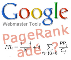 PageRank bleibt in Google Webmaster Tools